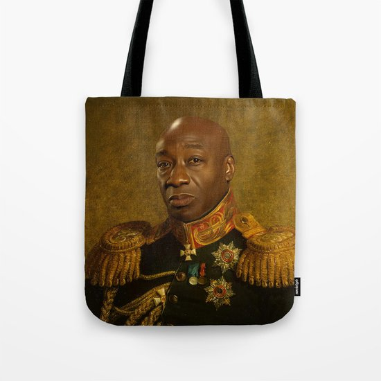 Michael Clarke Duncan - replaceface Tote Bag