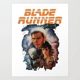 Blade Runner Shirt! Art Print