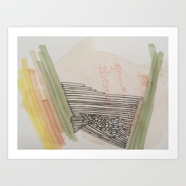 Honey In The Rock Art Print