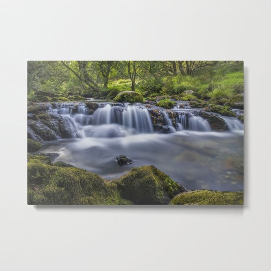 Gentle Flow Metal Print