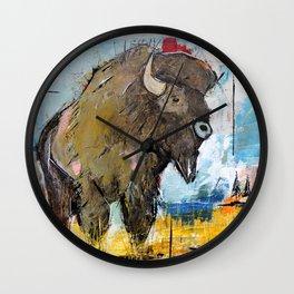Roam Alone Wall Clock