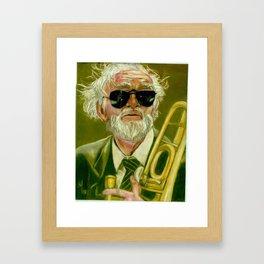 Trombonist Framed Art Print