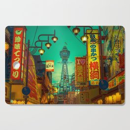 Osaka Nights - Shinsekai, New World / Liam Wong Cutting Board
