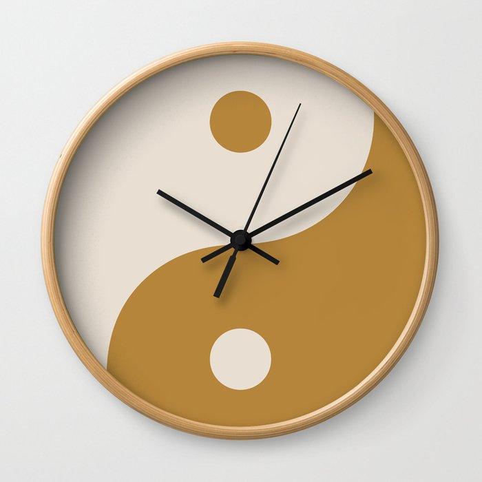 the moon the sun Wall Clock