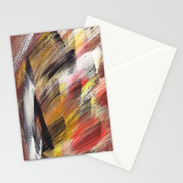 Cosmic brown 2 Stationery Cards
