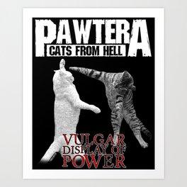 PAWTERA Art Print
