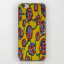 Rainbow flowers yellow iPhone Skin