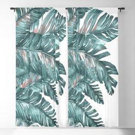 tropical blue Blackout Curtain