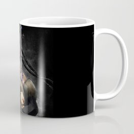 Final Fantasy X Lulu Painting Portrait Coffee Mug