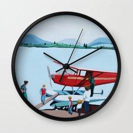Nanek, Alaska Wall Clock