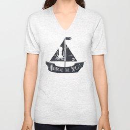 Nautical but Nice Unisex V-Neck
