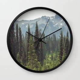 Escape to the Wilds - Nature Photography Wall Clock