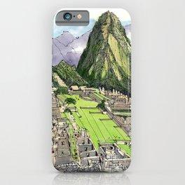 Machu Piccu, Peru iPhone Case