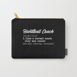 Handball coach definition Carry-All Pouch