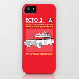 ECTO-1 Service and Repair Manual iPhone Case