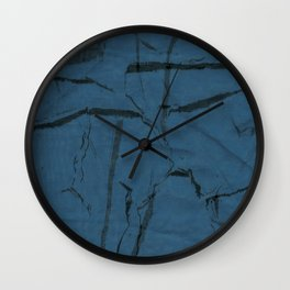 Crinkles Wall Clock