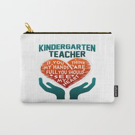 Kindergarten Teacher Carry-All Pouch