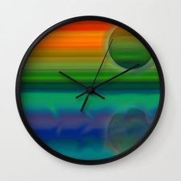 Miniplanet 1 Wall Clock