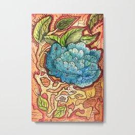 Nature, Flowers, Earth, Leaves Metal Print
