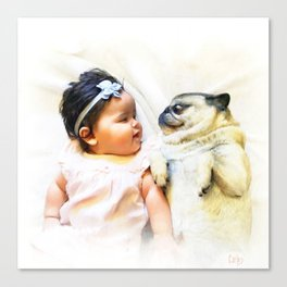 Friends For Life Canvas Print