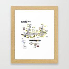 Tokyo 3534 Framed Art Print