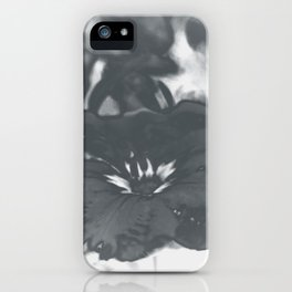 Bloom in Platinum Tone iPhone Case