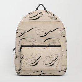 Calligraphy Practice Backpack