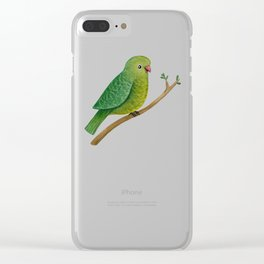 Cute Parrot Clear iPhone Case