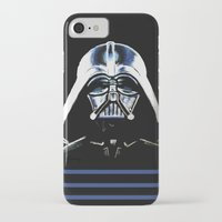 vader iPhone & iPod Cases featuring VADER by Aoife Rooney Art