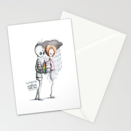 Two Minds for Depressed Cake Shop by Lauren Reis Stationery Cards