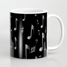 Raining Music Coffee Mug