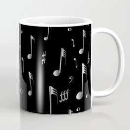 Raining Music Coffee Mug