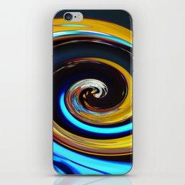 Swirling colors 03 (Swirl) iPhone Skin