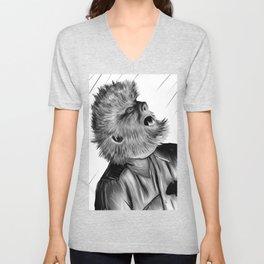 Classic Wolf Man Unisex V-Neck