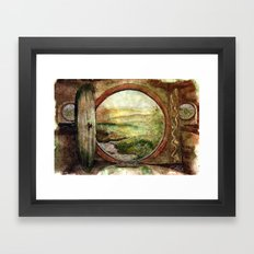 The World is Ahead Framed Art Print