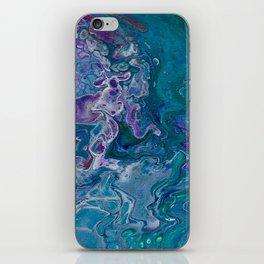 Turq Purple pour iPhone Skin