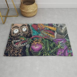 Sid Squish and the Death Collectors Rug