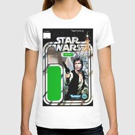 Han Solo Vintage Action Figure Card T-shirt
