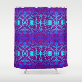 Ironwork Abstract Shower Curtain