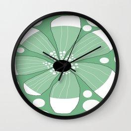 FLOWERY  TRINI  / ORIGINAL DANISH DESIGN bykazandholly Wall Clock