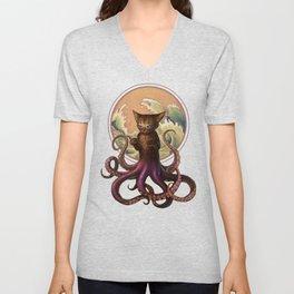 Octopussy Unisex V-Neck