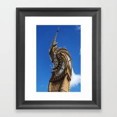 Big Ben Abstract Framed Art Print