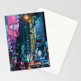 trippy city  Stationery Cards
