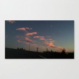 Waning Crescent Canvas Print