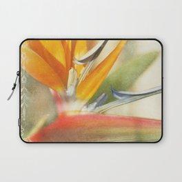 Bird of Paradise - Strelitzea reginae - Tropical Flowers of Hawaii Laptop Sleeve