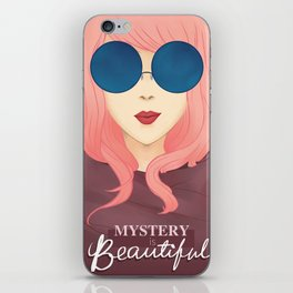 Mystery is Beautiful iPhone Skin
