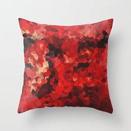 Colour Study: Red Throw Pillow