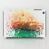 venice iPad Cases featuring Venice by GingerRogers