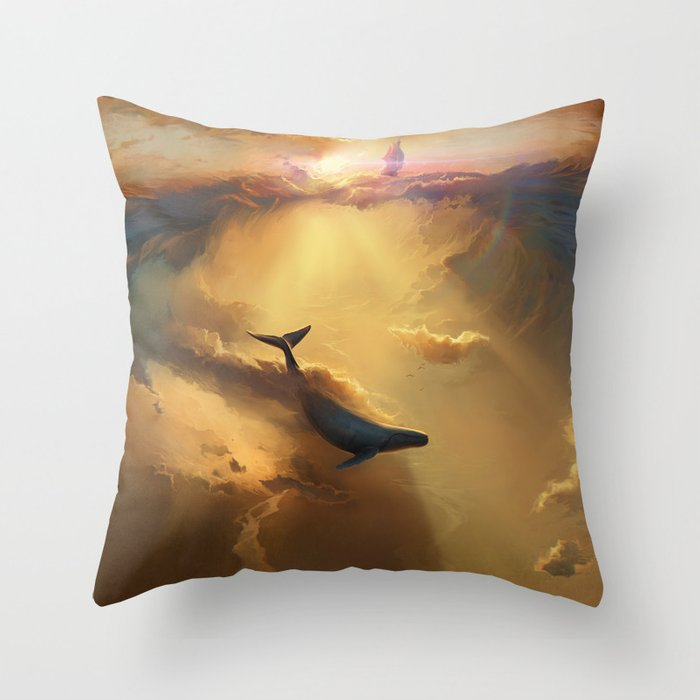 Infinite Dreams Throw Pillow