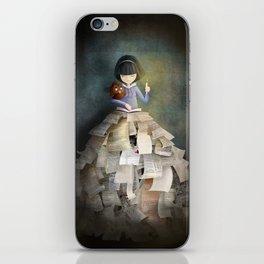 La Bibliothèque Oubliée iPhone Skin